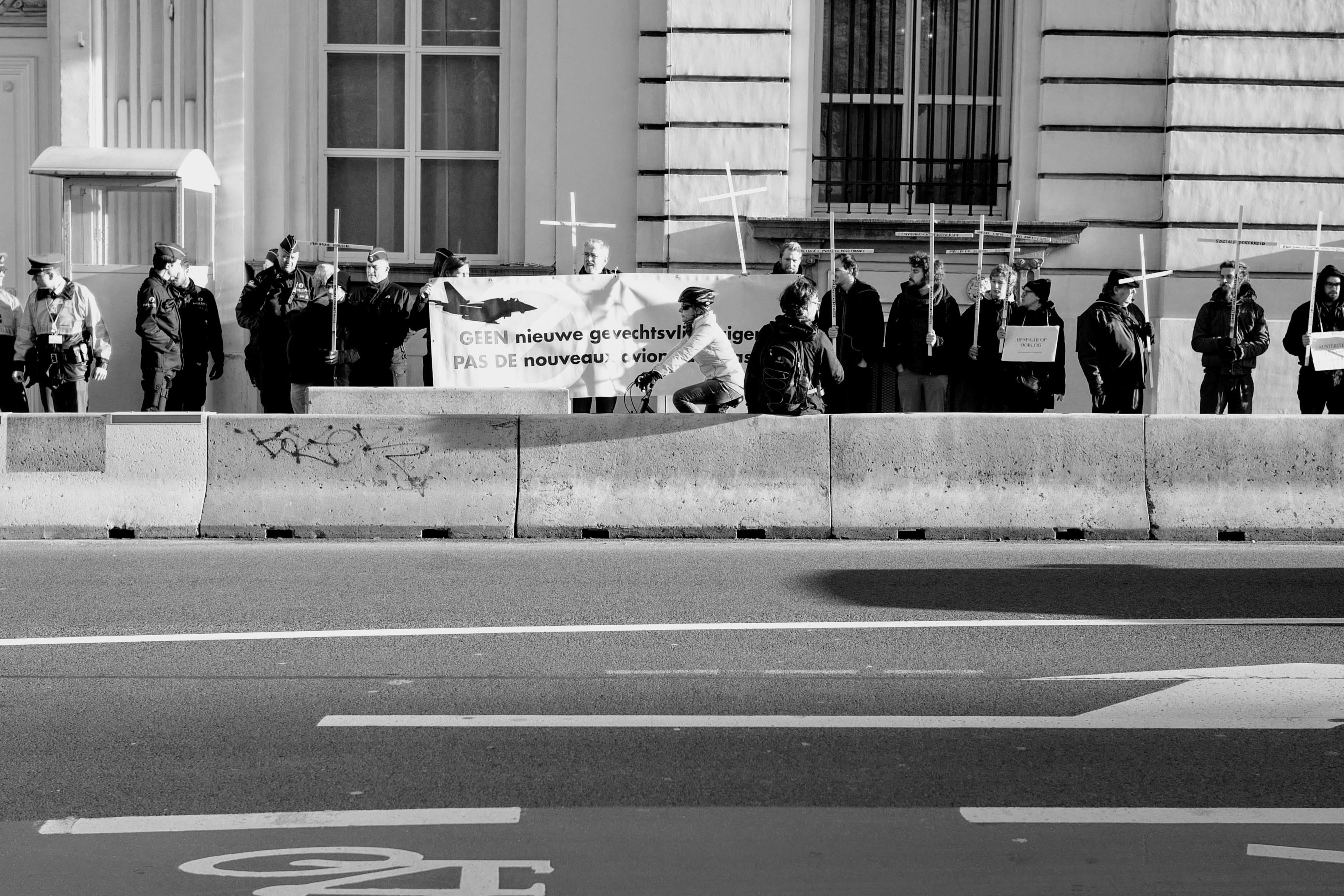 Foto verslag: Bezoek aan premier Michel