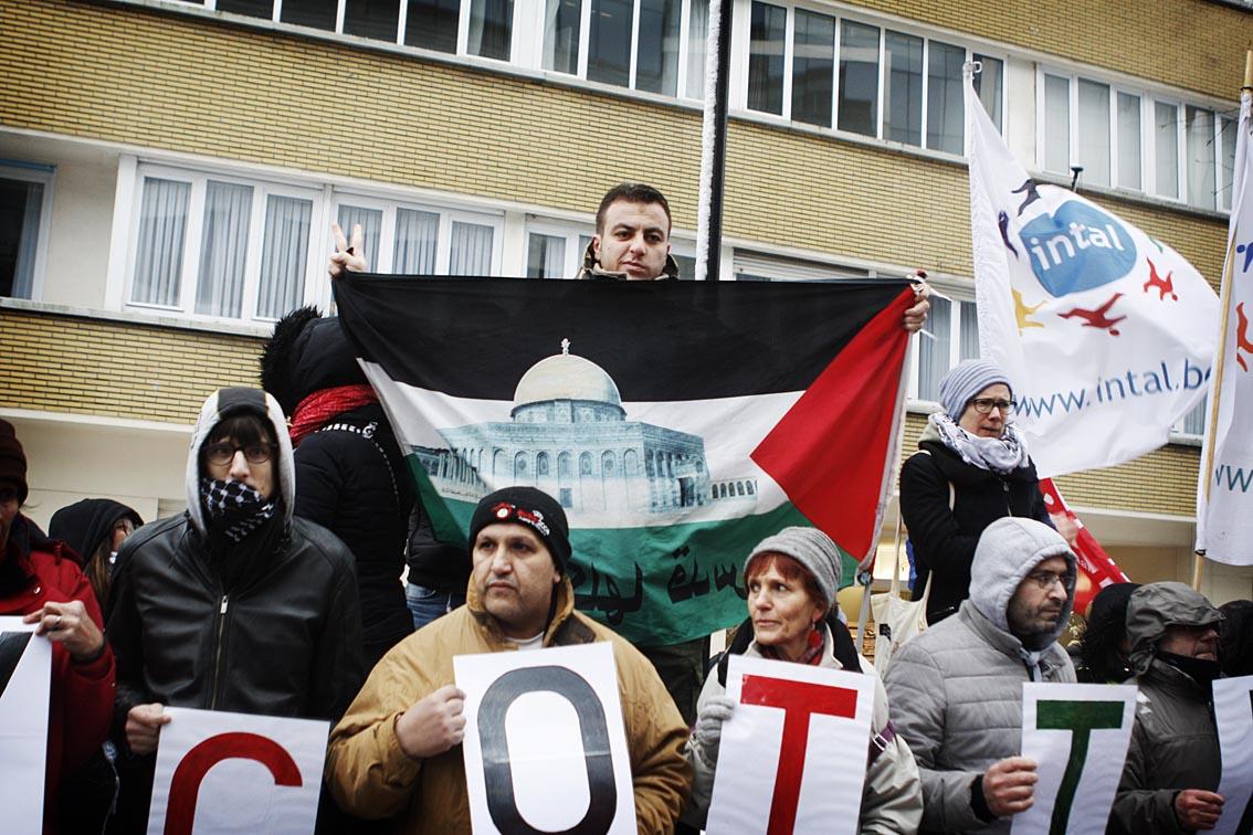 Fotoverslag: Netanyahu not welcome!