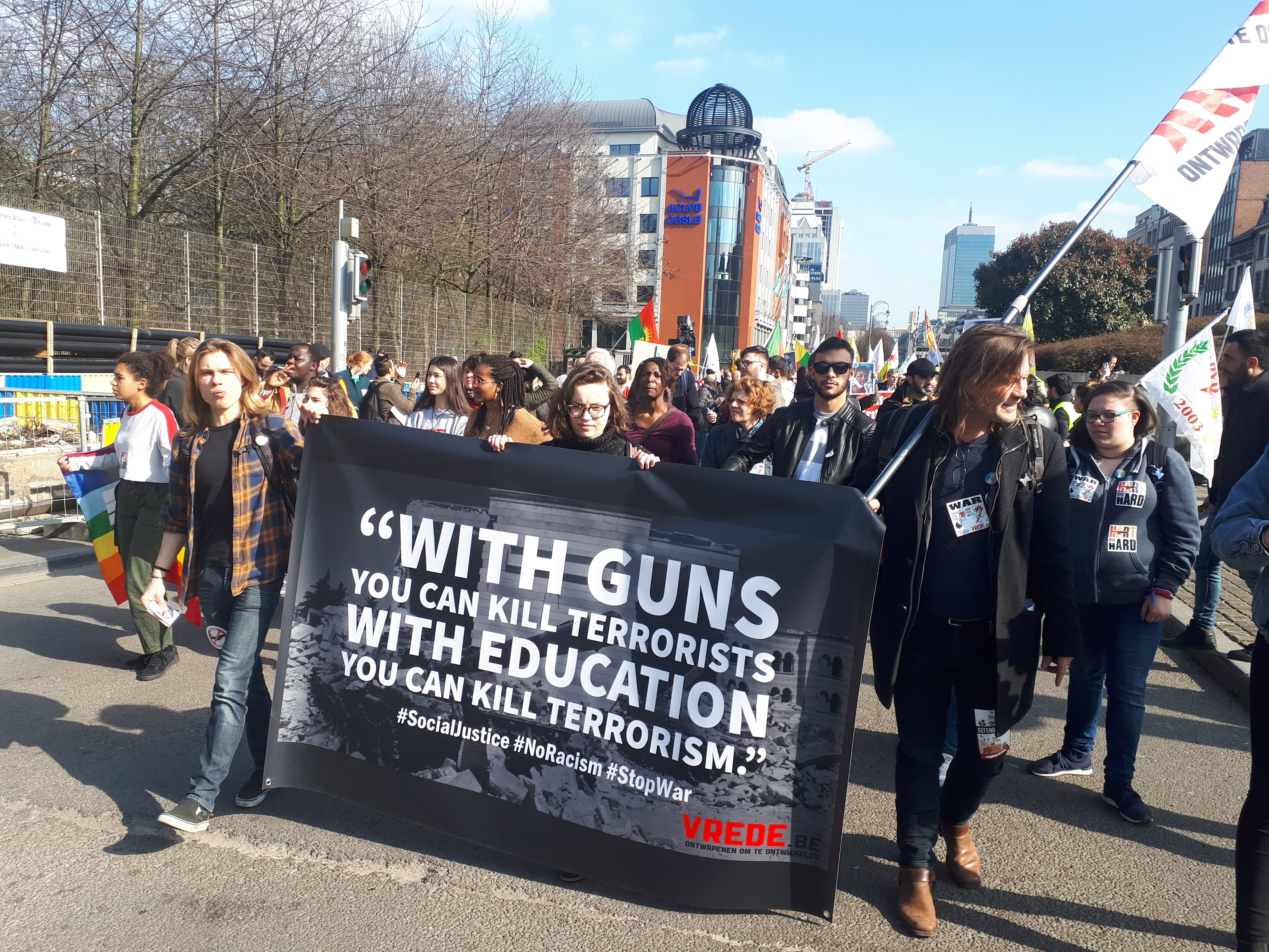 Fotoverslag Nationale Manifestatie tegen Racisme