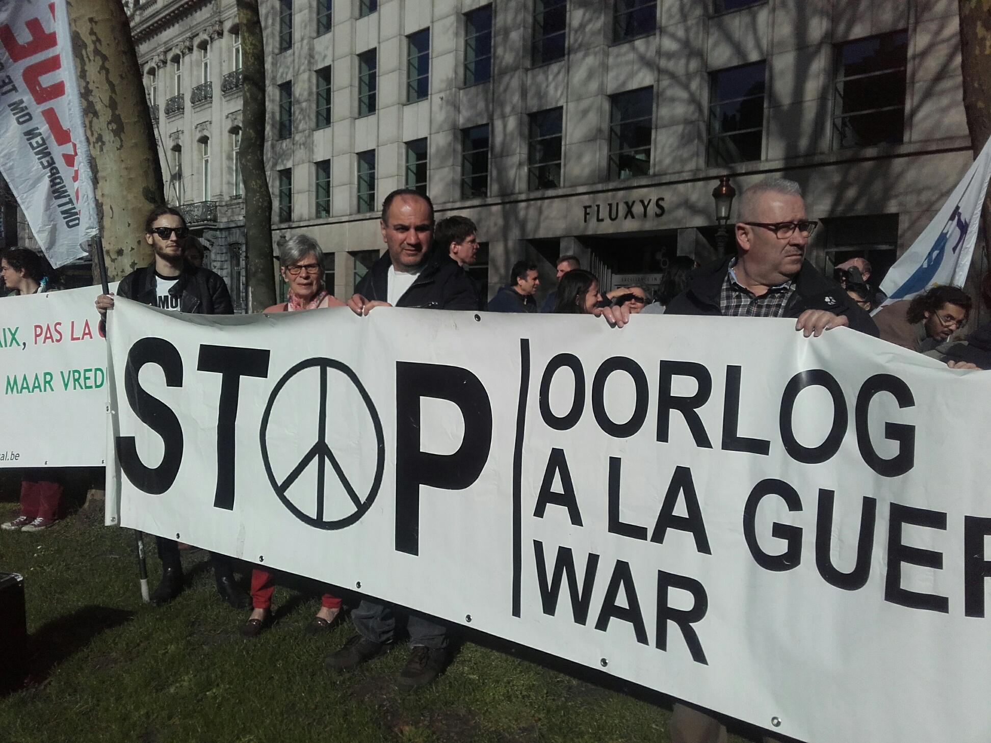 Syrië heeft geen bommen nodig, maar vrede!