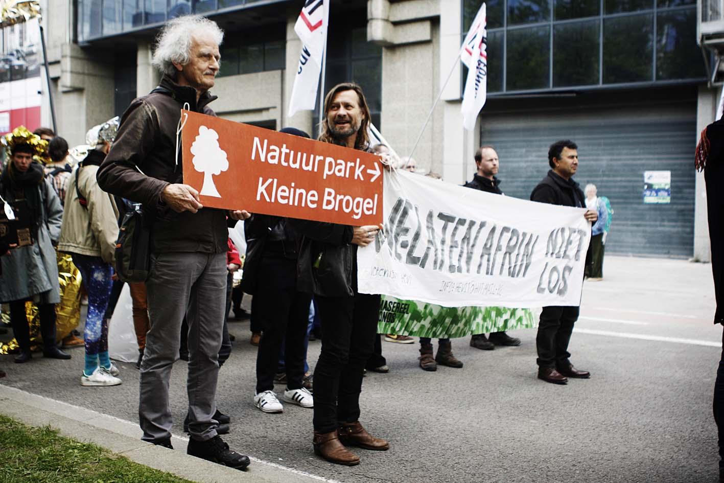 Duizenden mensen op straat voor het klimaat en sociale rechten