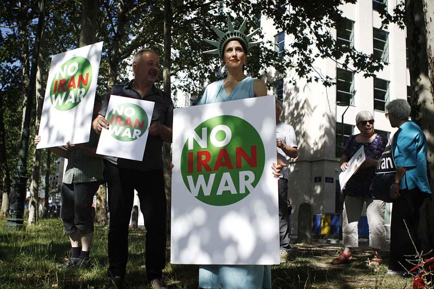 Actie: Geen oorlog tegen Iran!