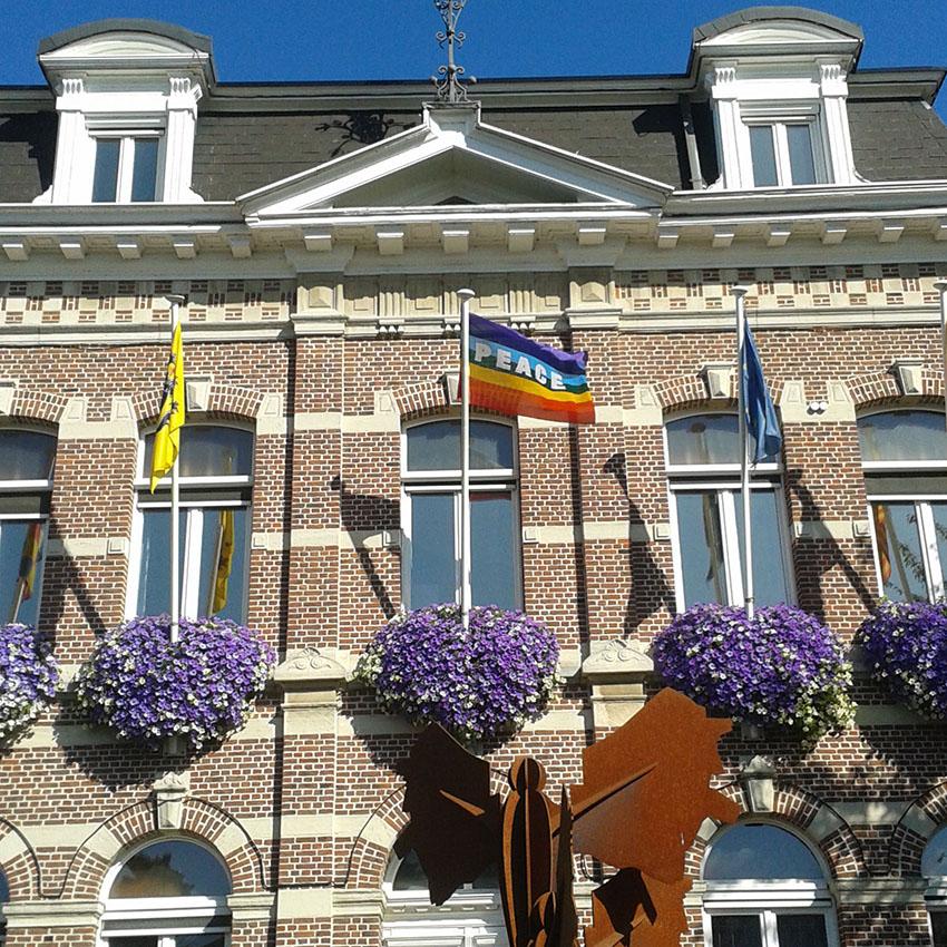 140 gemeenten steunen campagne Vredesvlag