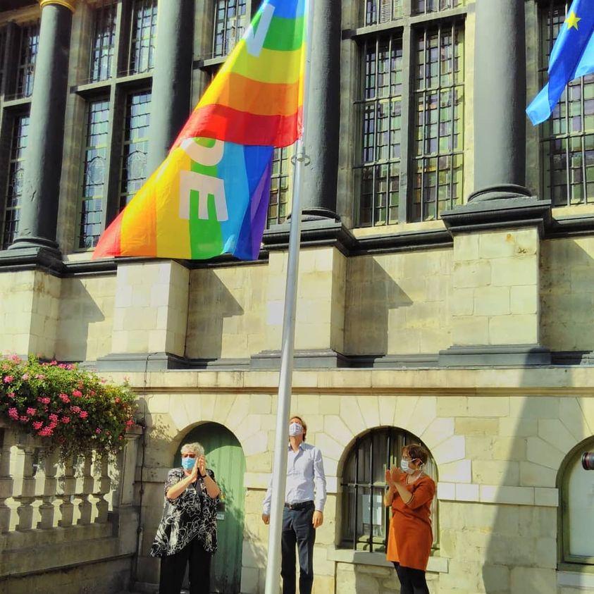 Nooit meer Hiroshima of Nagasaki! Meer dan 155 Belgische steden en gemeenten vragen om kernontwapening op de Internationale Dag van de Vrede