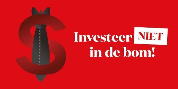 investeer niet in de bom